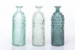 Botella Cristal 3 colores