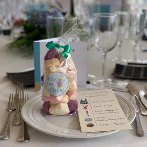 Detalles de mesa de boda