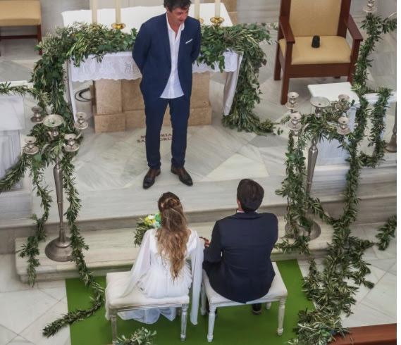 Decoración boda mediterránea